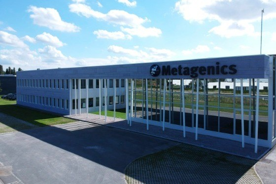 Facade of Metagenics Europe Ostend